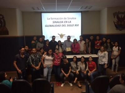 Conferencia del Mtro. Gilberto Javier López Alanís en la Facultad de Derecho en la UAS
