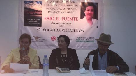 Presentación del Libro de O. Yolanda Villaseñor