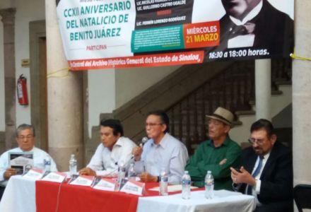 Participa el Mtro Gilberto López Alanís en Mesa Redonda sobre la Figura de Juárez