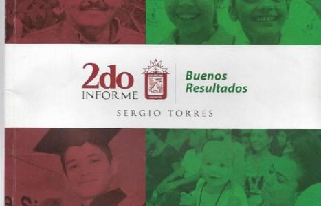Segundo Informe de Gobierno, Sergio Torres Félix.