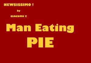 Man Eating Pie