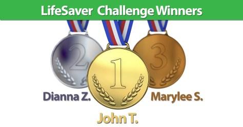 LifeSaver Challenge Winners