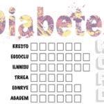 Diabetes - Word Scramble