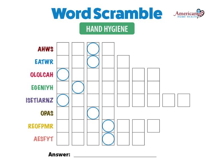Hand-Hygiene-Word-Scramble