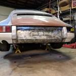 Porsche 911 custom bumper