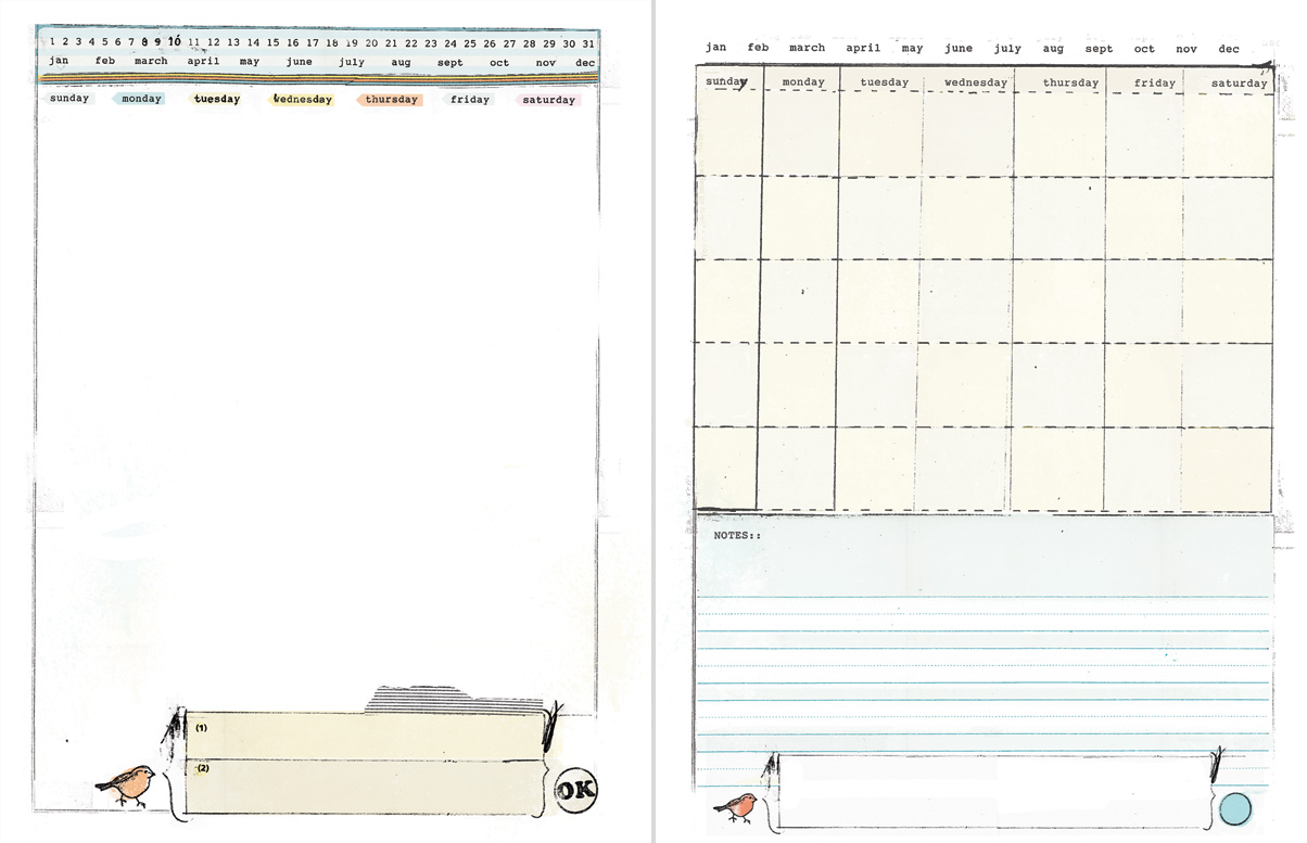 Diy Planner Templates By Ahhh Design