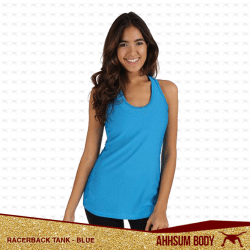 Racerback Tank Blue #ABARTBLUE