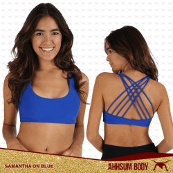 Samantha On Blue #ABASAMON-BLU