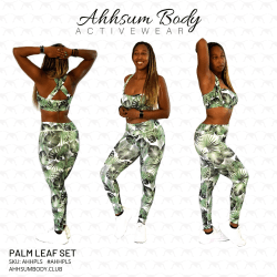 Palm Leaf Set - AHHPLS