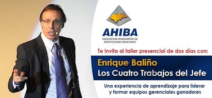 """Taller Presencial: Los Cuatro Trabajos Del Jefe """"L4TBJ"""" Con Enrique Baliño"""