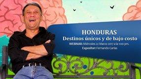 Webinar Honduras: Destinos únicos y de bajo costo