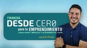 Webinar Finanzas DESDE CERO para tu Emprendimiento