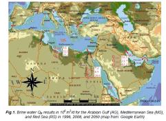 Brine dischage in Gulf