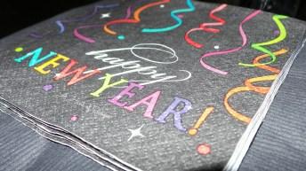 New Year's Napkins