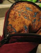 Bag I sewed (lining)