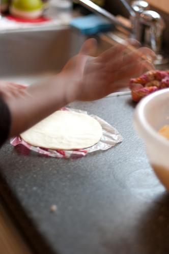 making tortilla's