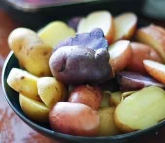 Colourful Potatoes
