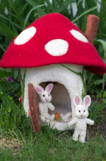 Large Mushroom House