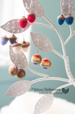 Acorn, Scenery and Rainbow Earrings