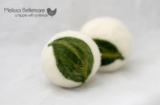 Needle Felted Dryer Balls
