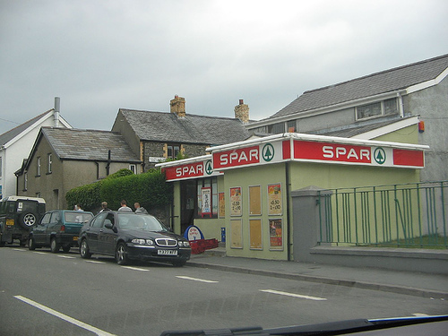 The cozy Penparcau Spar