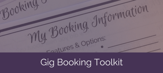 Professional Belly Dancers Gig Booking Toolkit