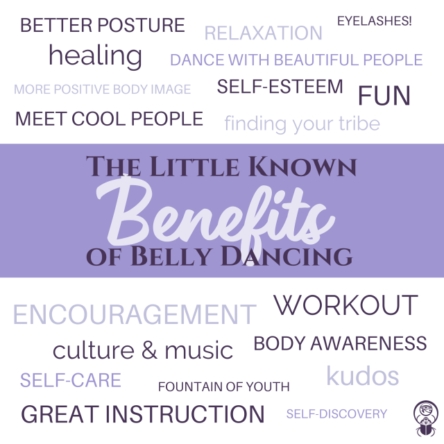 Little Known Benefits of Belly Dancing