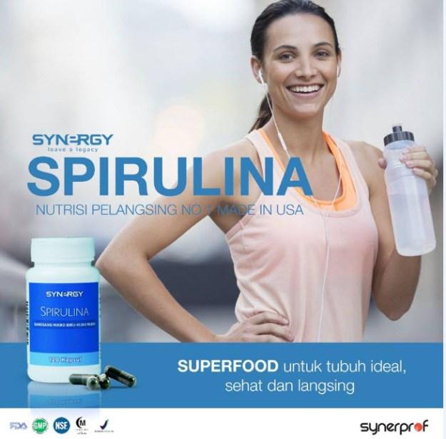 Jual Spirulina Synergy Penurun Berat Badan WA 0838 0505 5353