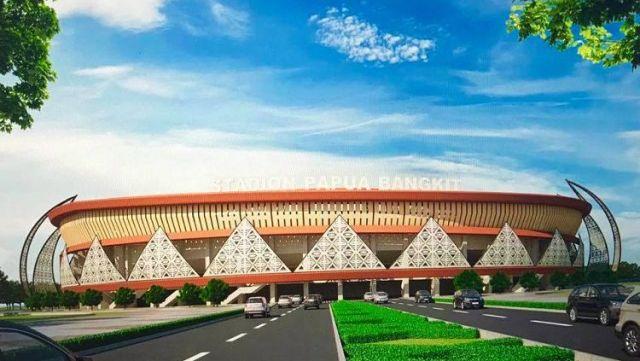 Majukan Fasilitas Olahraga di Kota Besar Papua Sambut PON 2020