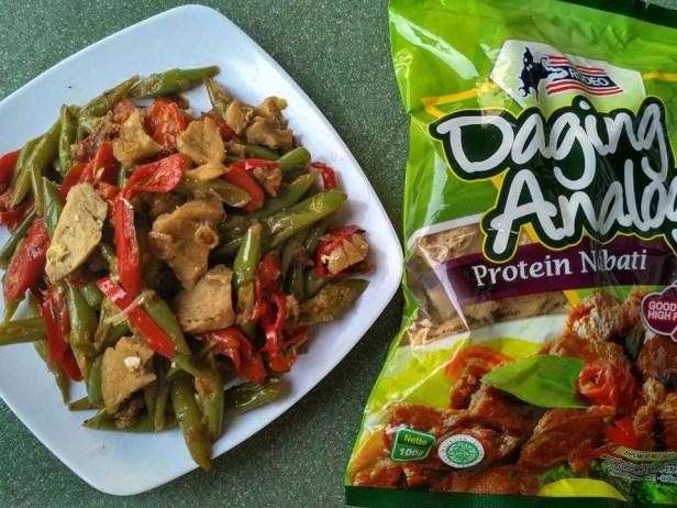 Daging Analog adalah Daging Tiruan dari Jamur dan Tepung Kedelai
