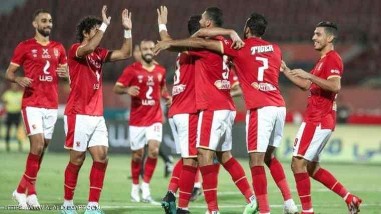 الأهلي يبدأ الأستعداد لمباراة الإسماعيلي علي أستاد الإسكندرية  في الدوري المصري