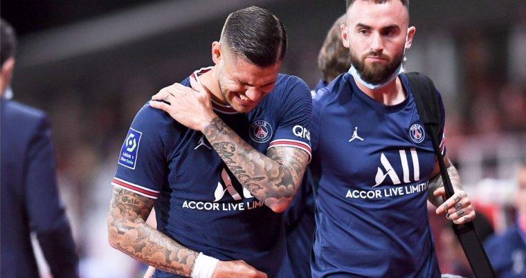 باريس سان جيرمان يعلن غياب إيكاردي بسبب إصابة في الكتف