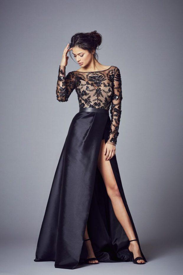 فستان سهرة شيك 2021