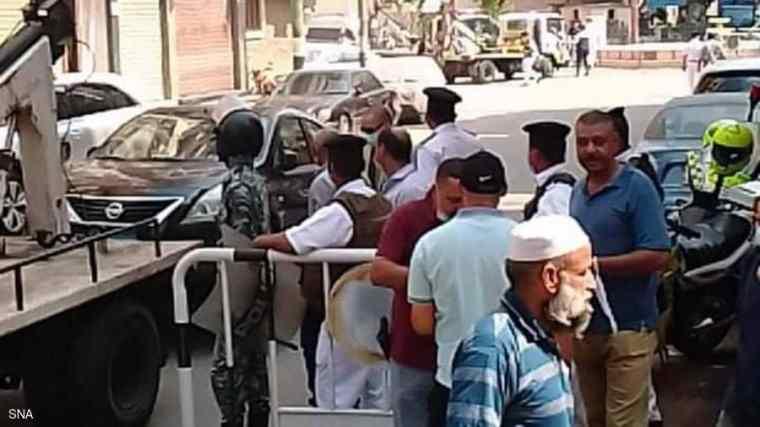 الداخلية تضبط المتهم بالتهديد بتفجير محاكم المنيا وذلك رغبة منه في تأجيل قضية لموكله