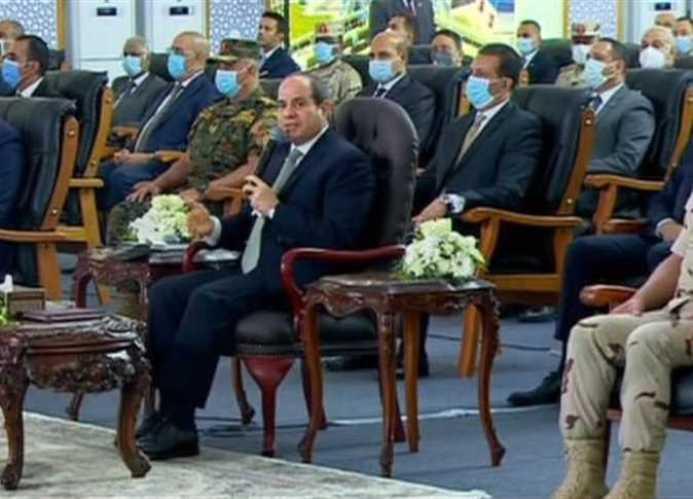 عبد الفتاح السيسي يوجه بإزالة تعديات الأراضي الزراعية خلال 6 أشهر