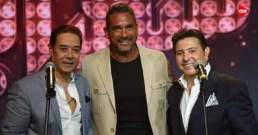 """هاني شاكر ومدحت صالح يتحدثان عن ذكرياتهما مع أمير كرارة في برنامج """"سهرانين"""" على قناة """"ON E"""""""