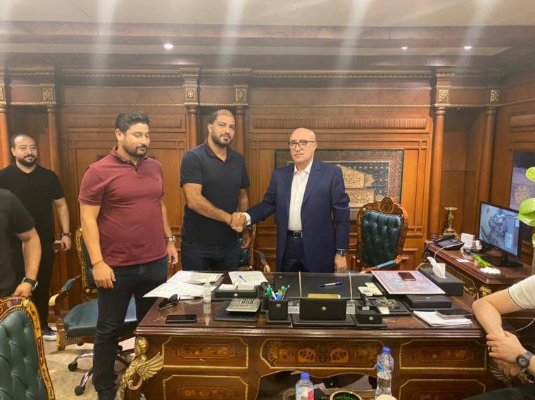 رسميًا توقيع معين الشعباني مدربًا للمصري البورسعيدي في الموسم المقبل