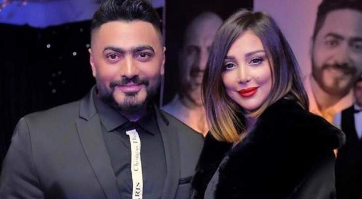 تامر حسني وزوجته بسمة بوسيل يقرران إطلاق عطر فرنسي بتوقيعهما فى عيد الحب