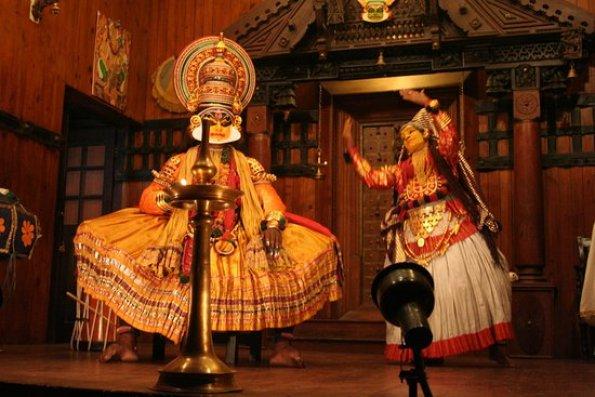 مسرح كيرلا للفلكلور من الأماكن السياحية في ولاية كيرالا الهندية