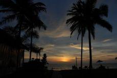 Sunset at Ayara Villas