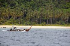 Rough ride to Phi Phi Island