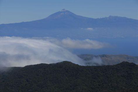 Alto de Garajonay y Teide