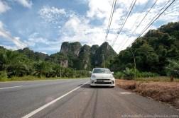 On the way to Ao Nang fro Krabi