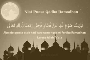 Doa Niat Puasa Qadha Ramadhan Lengkap