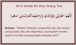 Doa Untuk Orang Tua Sesuai Sunnah