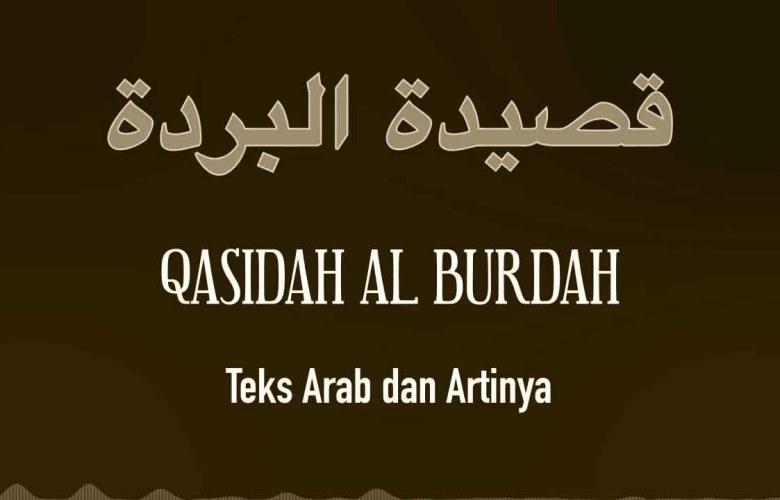 Lirik Sholawat Burdah Arab Dan Latin