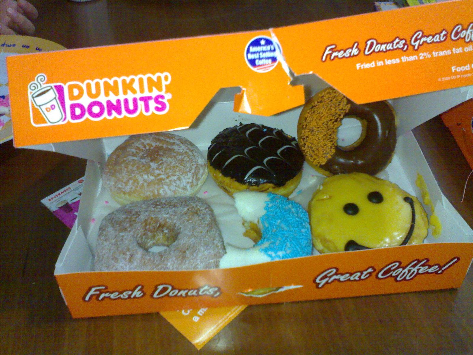 Tasty DUNKIN'DONUTS