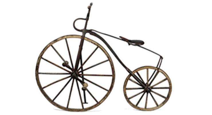 Kecepatan sudut pada sepeda roada berbeda ukuran ban