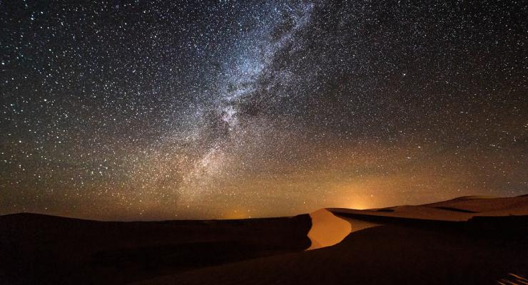 Melihat Sejarah melalu Milky Way di malam hari