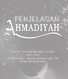 buku penjelasan ahmadiyah